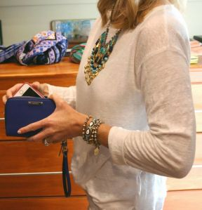 Pochette Chelsea Cobalt Blue